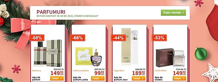 Oferte speciale parfumuri Elefant.ro