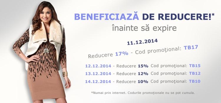 Reducerile Bonprix decembrie 2014