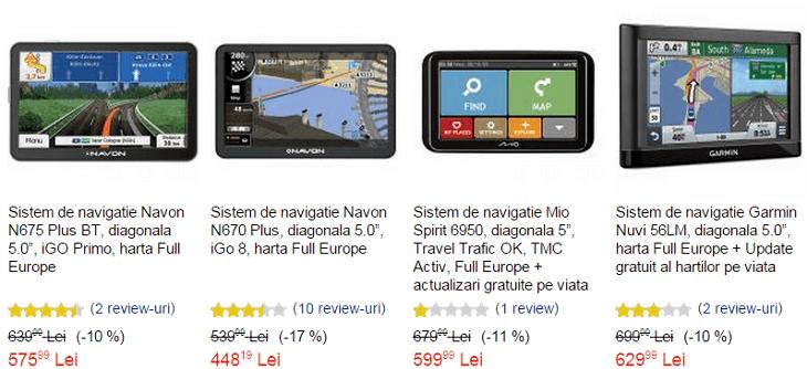 Promotii GPS eMAG