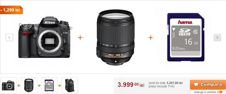 Reducere F64 pachet Nikon