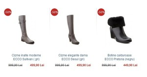Winter Sale 2015 la ECCO-shoes