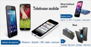 Vanzari de telefoane mobile eMAG