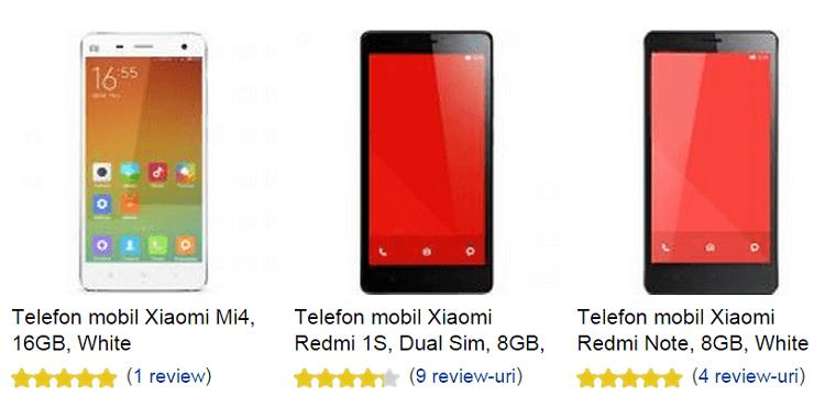 Telefoane mobile Xiaomi la eMAG