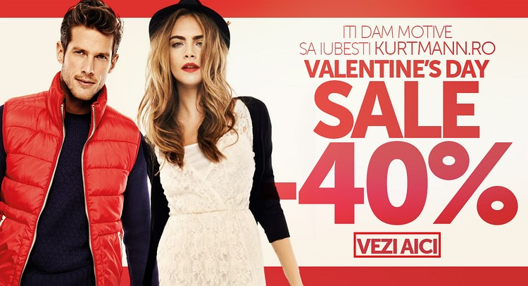 Kurtmann reducere Valentine's Day
