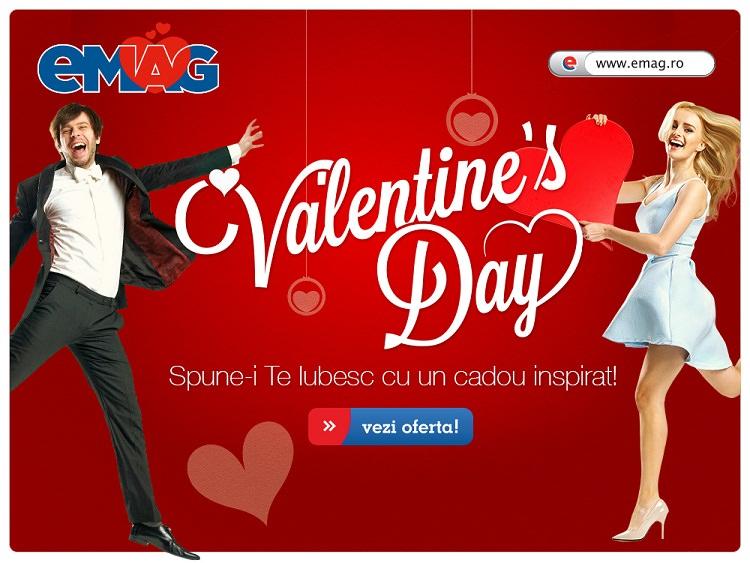 Valentine's Day 2015 la eMAG