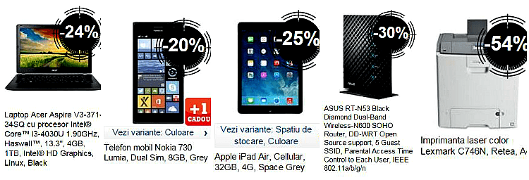 IT&Mobile Stock Busters eMAG