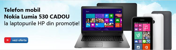 Promotie laptop HP cu Nokia Lumia 530