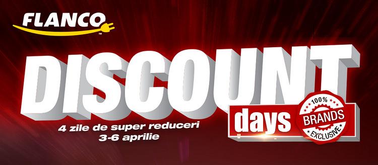 Discount Days la Flanco 2015