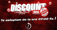 Discount Days la Flanco