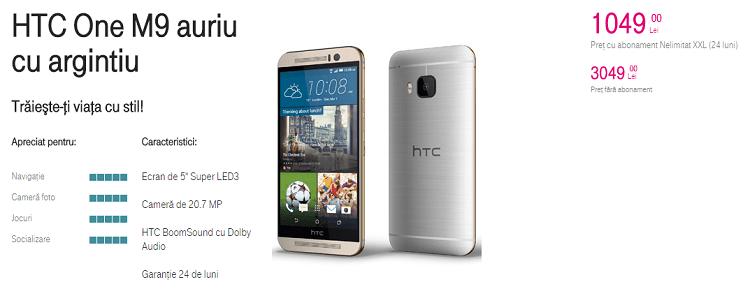 Preturile pentru HTC One M9 Telekom