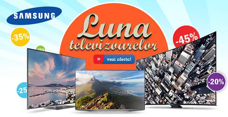 Promotii televizoare Samsung eMAG