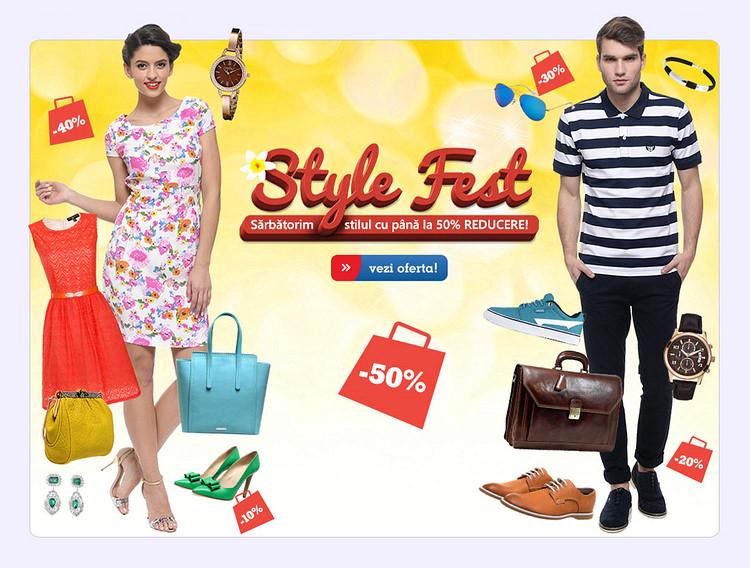 Style Fest la eMAG