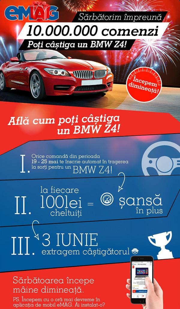 Cum poti castiga BMW Z4 eMAG