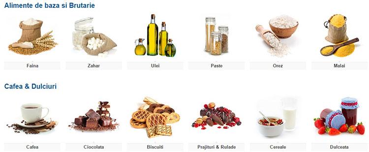 Alimente supermarket eMAG