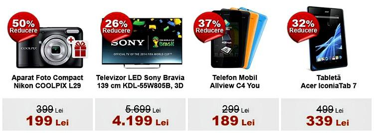 Foto TV Telefoane Tablete Black Friday 2014 evoMAG