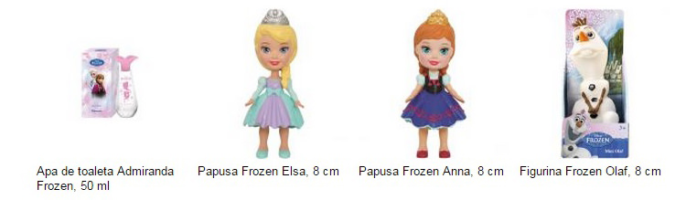 Jucarii personaje Frozen eMAG