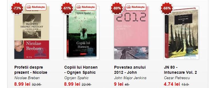 Oferte carti Libris.ro