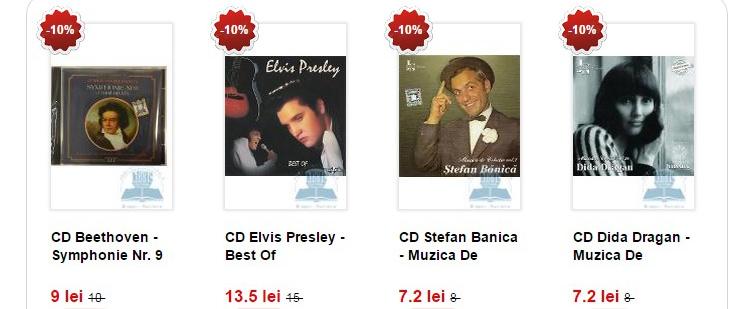 Oferte muzica Libris.ro