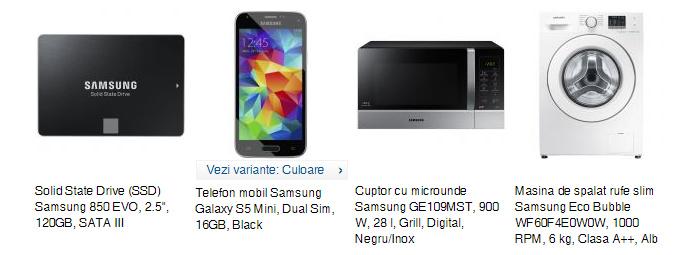 Produse Samsung la eMAG