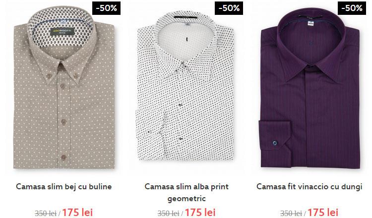 Promotie camasi Bigotti