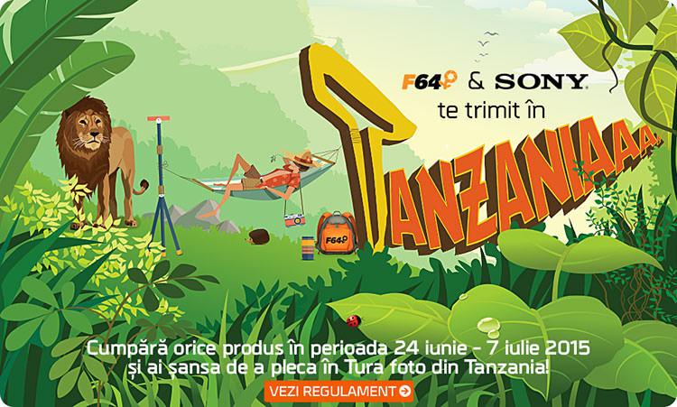 F64 si Sony te trimit in Tanzania