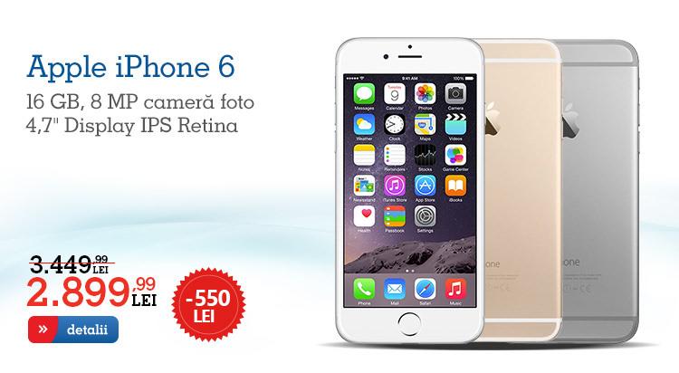Oferta eMAG iPhone 6