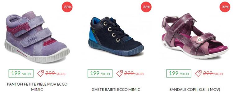 Pantofi copii extra reduceri Ecco Shoes