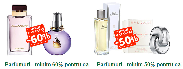 Reduceri parfumuri femei