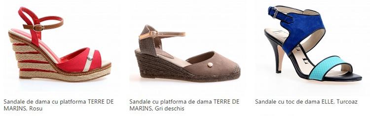 Sandale dama reduceri eMAG