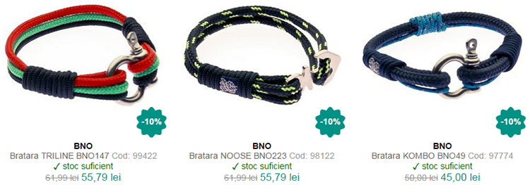 Bratari BNO WatchShop