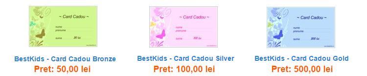 Carduri cadou BestKids
