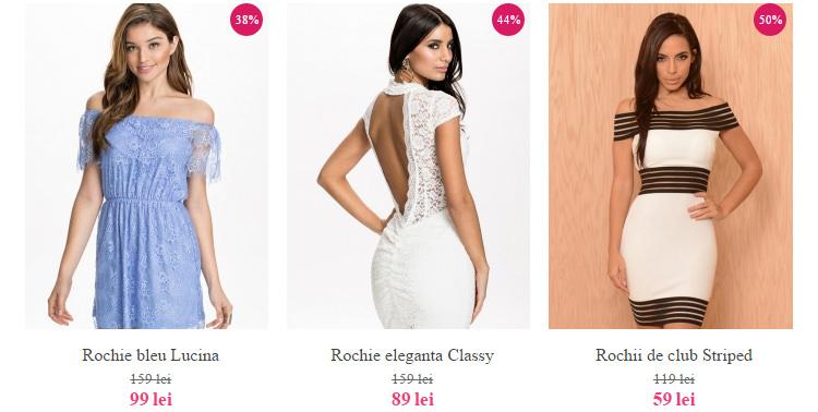 Modele noi rochii DeClub