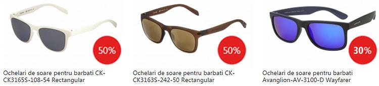 Promotii ochelari soare barbatesti eMAG Fashion Summer Sales