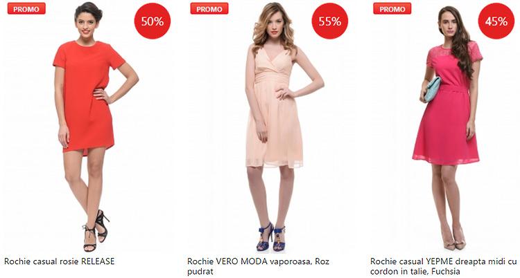 Promotii rochii eMAG Fashion Summer Sales