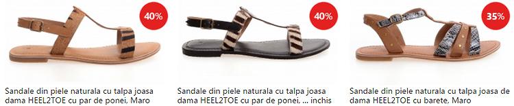 Promotii sandale dama eMAG Fashion Summer Sales