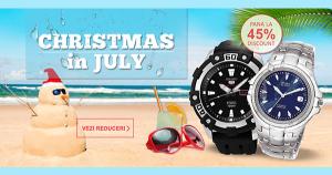 Reduceri WatchShop Christmas in July