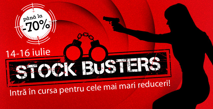 Summer Stock Busters la eMAG