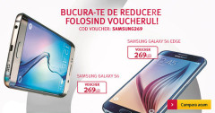Voucher reducere Altex Samsung Galaxy S6
