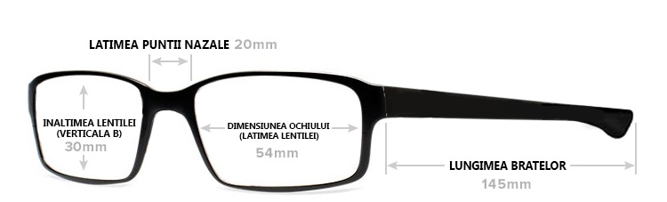Dimensiuni ochelari soare