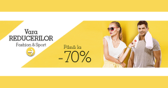 Discounturi articole Fashion Sport eMAG