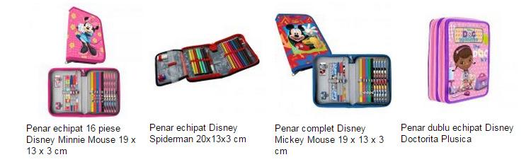 Penare echipate Disney eMAG
