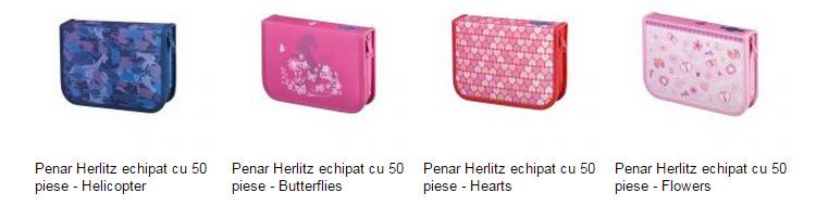 Penare echipate Herlitz eMAG