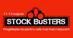 Stock Busters august eMAG