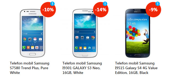 Telefoane Samsung promotie eMAG Back to you