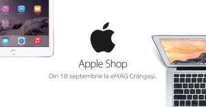 Apple Shop eMAG 18 septembrie