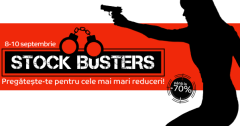 eMAG Stock Busters 8-10 septembrie