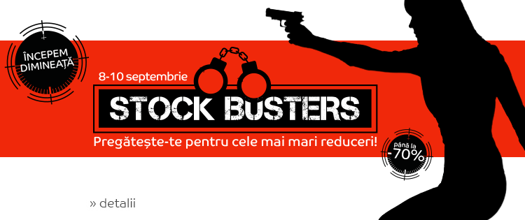 eMAG Stock Busters de toamna