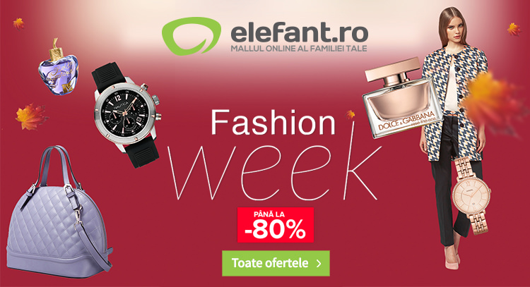 Fashion Week Elefant septembrie