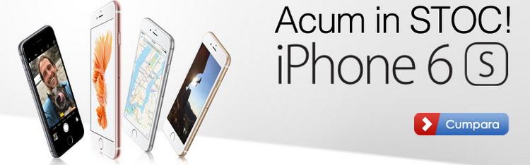 iPhone 6s stoc MarketOnline