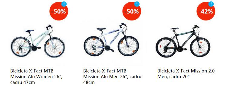 Reduceri biciclete Revolutia Preturilor eMAG